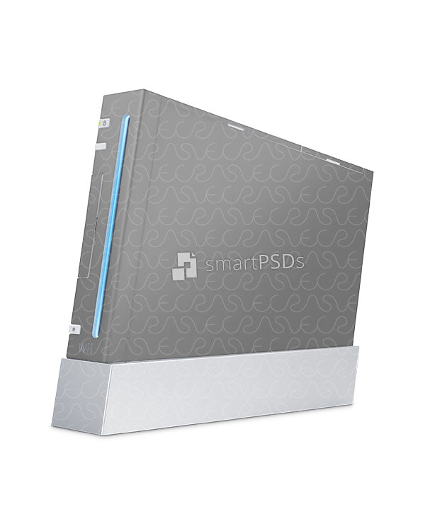 Nintendo Wii Skin Decal Design Template