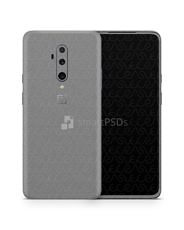 OnePlus 7T Pro (2019) PSD Skin Mockup Template
