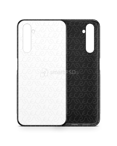 Realme 6 Pro (2020) 2d Rubber Flex Case Design Mockup
