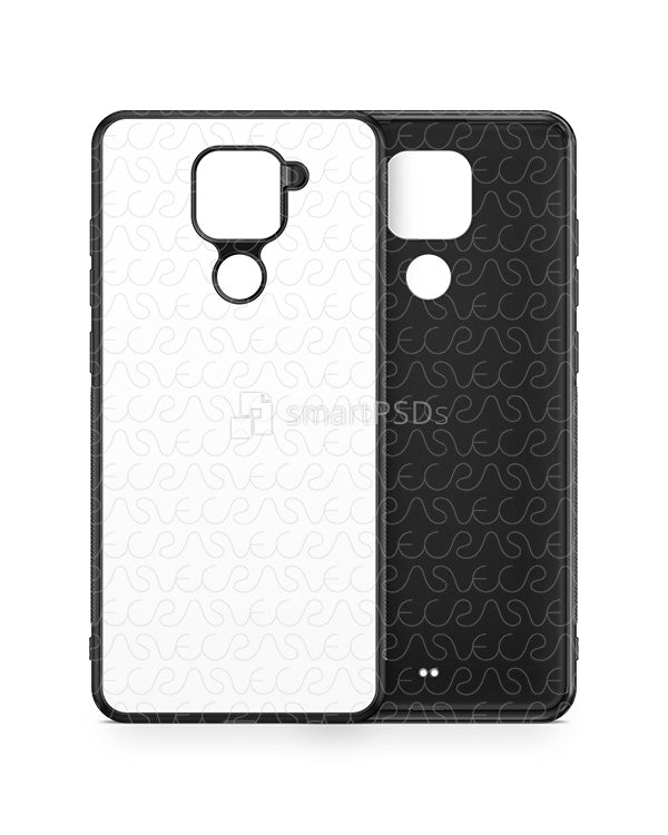 Redmi Note 9 (2020) 2d Rubber Flex Case Design Mockup