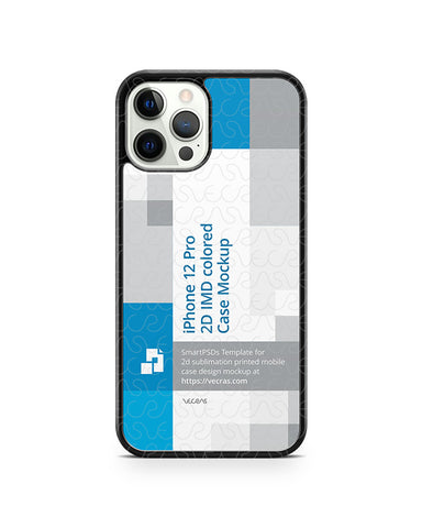 iPhone 12 Pro (2020) 2d PC Colored Case Design Mockup