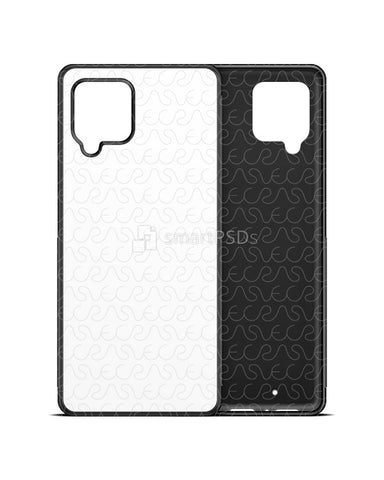 Galaxy A42 5G (2020) 2d Rubber Flex Case Design Mockup