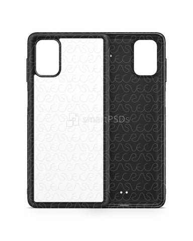 Samsung Galaxy M51 (2020) 2d Rubber Flex Case Design Mockup
