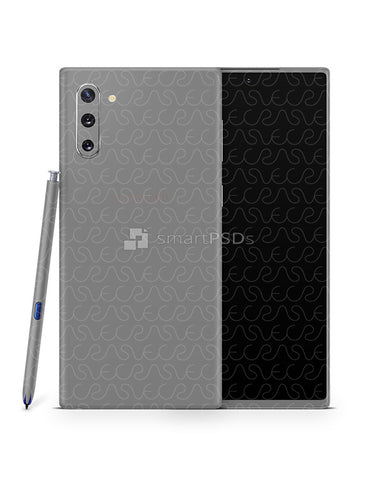 Galaxy Note 10 Vinyl Skin Design Mockup 2019