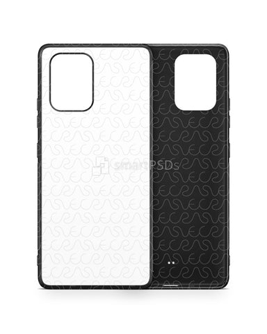Galaxy S10 Lite (2020) 2d Rubber Flex Case Design Mockup
