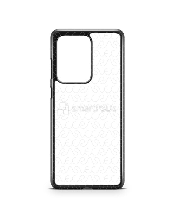 Galaxy S20 Ultra (2020) 2d PC Colored Case Design Mockup