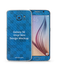 Samsung Galaxy S6 Mobile Skin Design Template
