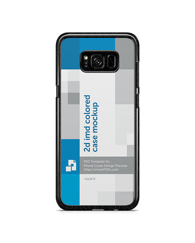 Samsung Galaxy S8-S8 Plus Phone Cover Design Template