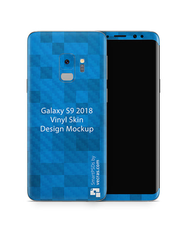 Samsung Galaxy S9 Mobile Skin Design Template