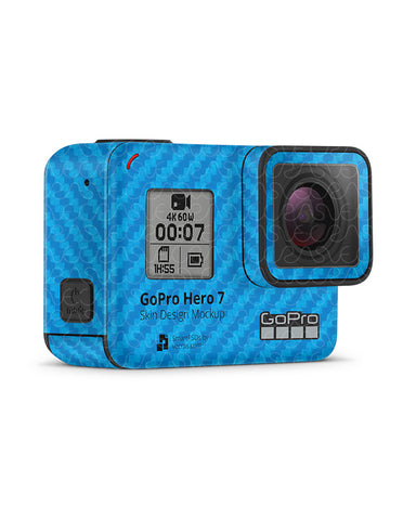 GoPro Hero 7 Black 2018 Vinyl Skin Design Template