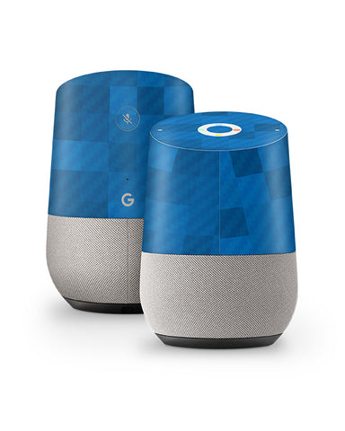 Google Home Audio Device Vinyl Skin Design Mockup