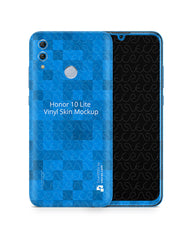 Honor 10 Lite Vinyl Skin Design Mockup 2018