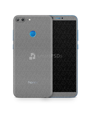 Honor 9 Lite Vinyl Skin Design Mockup 2017
