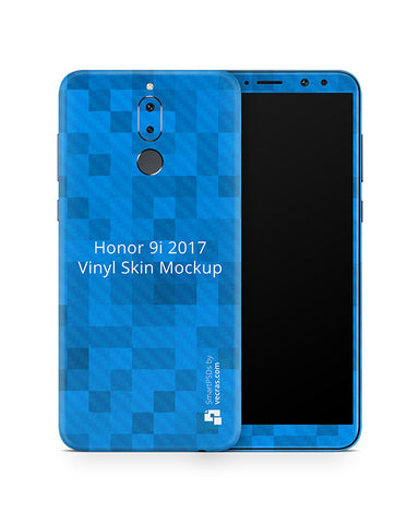 Honor 9i Vinyl Skin Design Mockup 2017