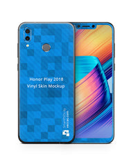 Honor Play Vinyl Skin Design Mockup 2018