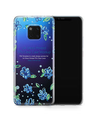 Huawei Mate 20 Pro UV TPU Clear Case Mockup 2018