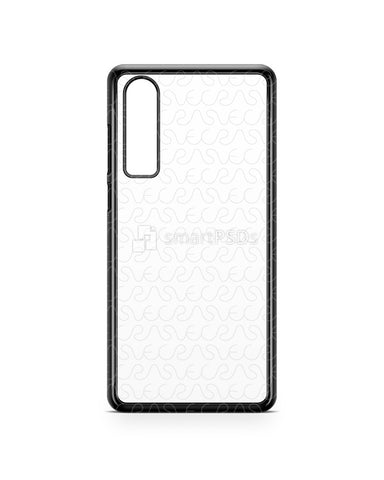 Huawei P30 2d PC Colored Case Design Mockup 2019