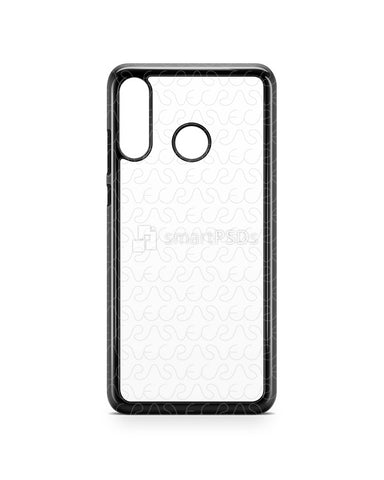 Huawei P30 Lite 2d PC Colored Case Design Mockup 2019