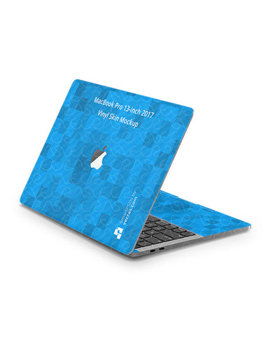MacBook Pro 13 2016-18 Laptop Skin Design Template