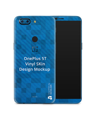 OnePlus 5T Mobile Skin Design Template 2017