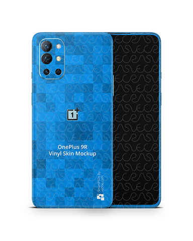 OnePlus 9R (2021) PSD Skin Mockup Template