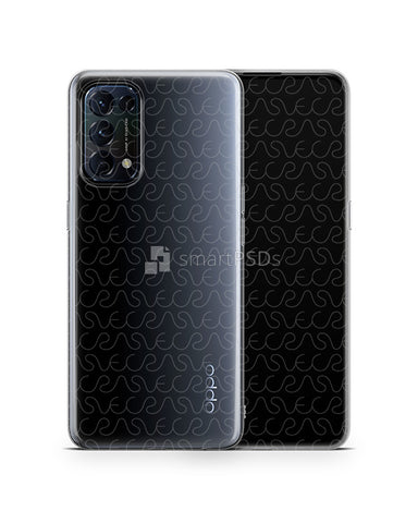 Oppo Find X3 Lite (2021) TPU Clear Case Mockup