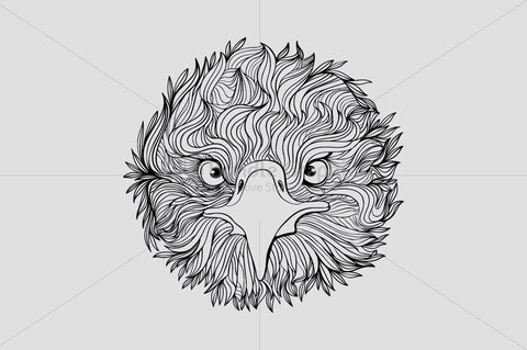Cute Eagle Bird - Front Profile