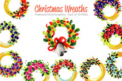 Christmas Wreaths - Creative Floral Circles