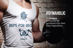 Gymaholic- Gym & Fitness Inspirational Print Designs Pack