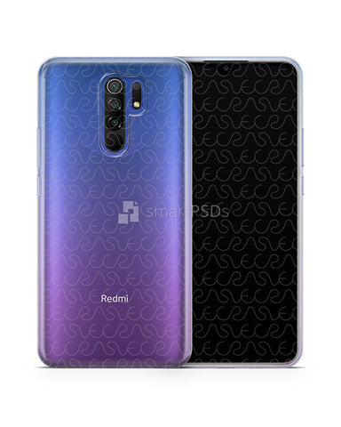 Redmi 9 (2020) TPU Clear Case Mockup