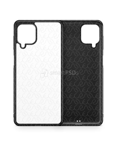 Samsung Galaxy M62 (2021) 2d Rubber Flex Case Design Mockup
