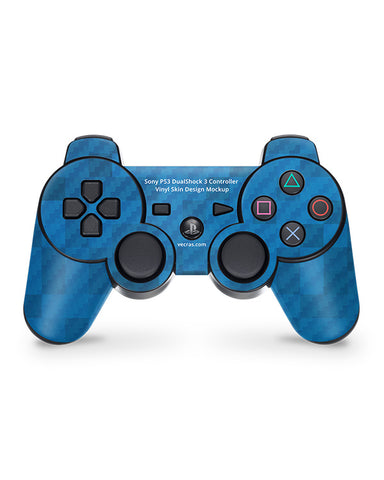 Sony PS3 Dual Shock 3 Gaming Controller Vinyl Skin Design Mockup