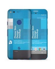 Google Pixel Mobile Skin Design Template