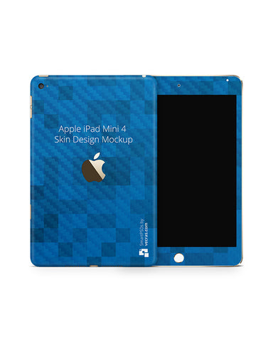Apple iPad Mini 4 Tablet Skin Design Template 2015