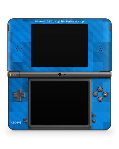Nintendo DSI XL Vinyl Skin Design Template (2 Views)