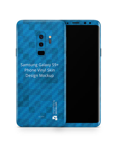 Samsung Galaxy S9 Plus Mobile Skin Design Template
