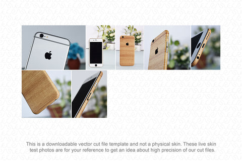 iPhone 6S Plus (2015) Skin Template Vector