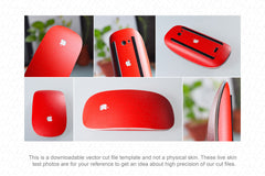 Apple Magic Mouse 2009 Wrap Template Cut File
