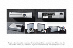 Xbox 360 Slim Gaming Console (2010) Vector Cut File Template