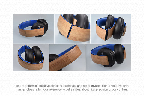 Sony PS Wireless Stereo Headset 2.0 (2016) Skin Cutting Template