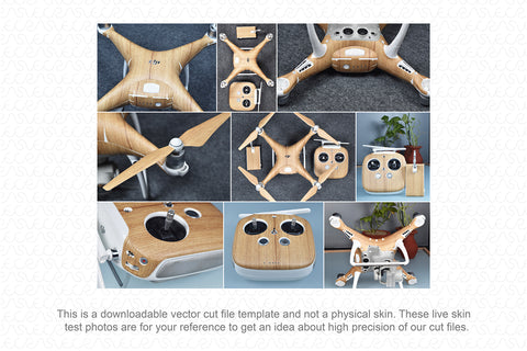 DJI Phantom 4 (2013) Skin Vector Template