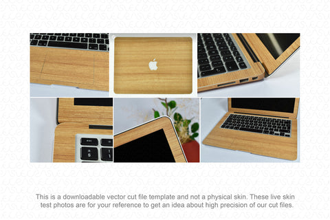 "MacBook Air 13.3"" (2012) Skin Template Cut File"