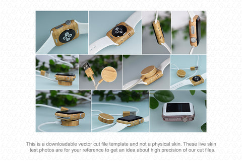 Apple Watch 38mm Series 2 (2016) Skin Cutting Template