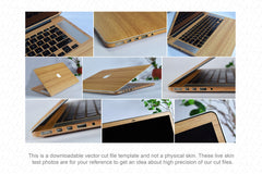 "MacBook Pro 15"" Retina (2012) Skin Template Cut File"