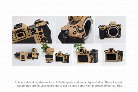 Nikon Z6 Mirrorless Digital Camera (2018) Skin Vector Template