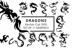 SVG Cutfiles Bundle-1 with 200+ Unique Shapes