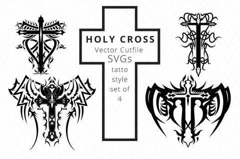 200 SVG Cutfile Graphics Bundle-2 Religious Symbols