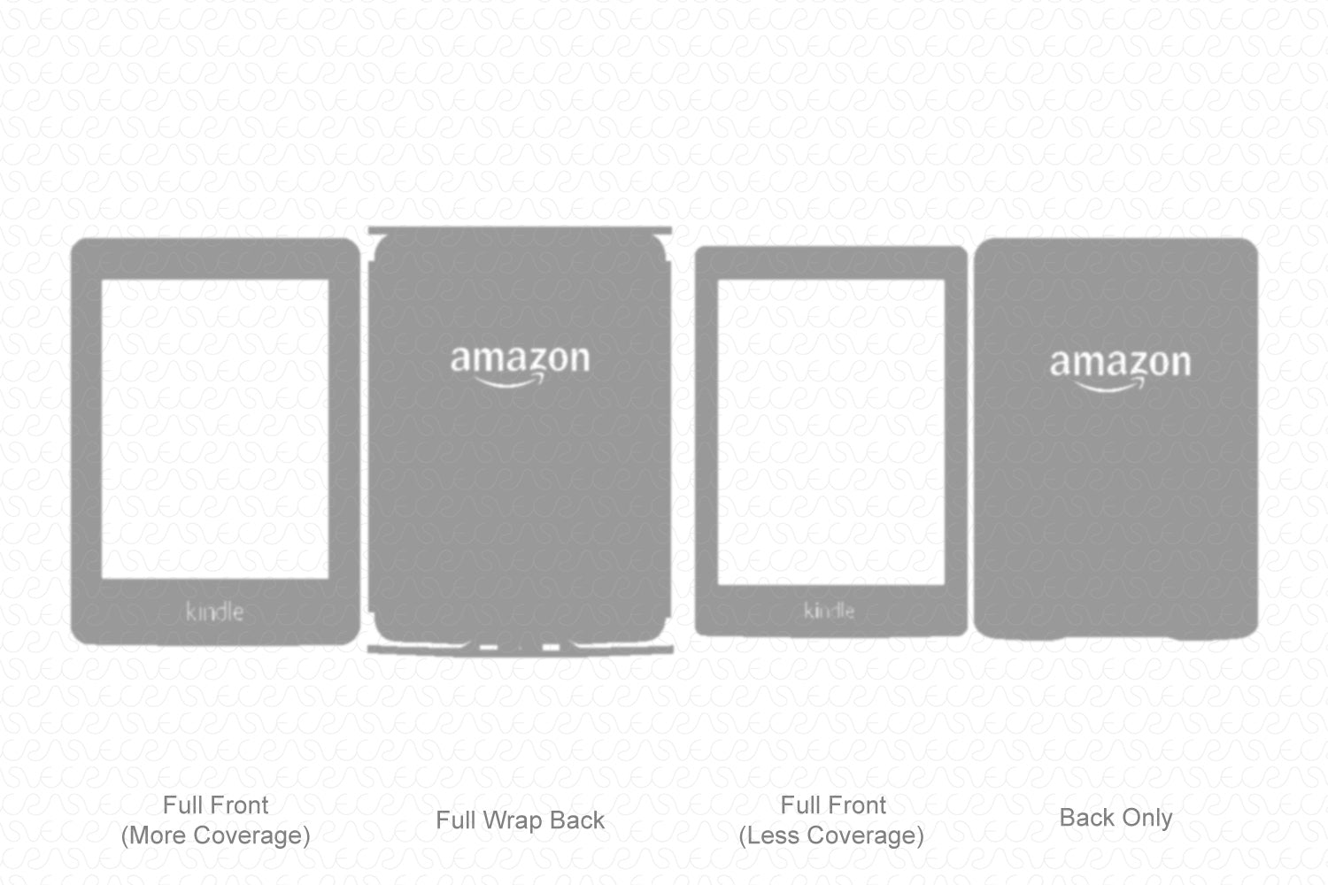 Kindle Paperwhite (2015) Vector Cutline Template