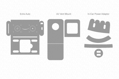 Amazon Echo Auto 2019 Skin Vector Template