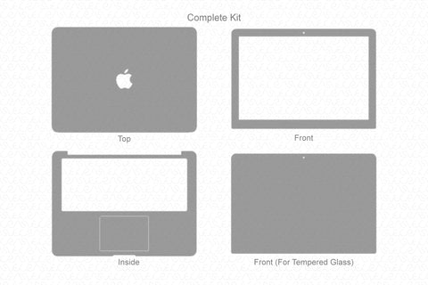"MacBook Air 13"" (2011) Skin Template Cut File"